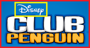 Clubpenguin disney sign
